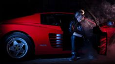 Kavinsky, French house artist best known for composing Nightcall, the opening track of the movie Drive (2011), has put out an album called OutRun (2013), that sounds like the soundtrack to Miami Vice, 1980s video games and the films of Dario Argento