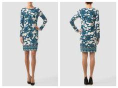 Este hermoso vestido es la elegancia en su máxima expresión, su atrevida combinación hace de este vestido de Joseph Ribkoff que te hará verte y sentirte hermosa.