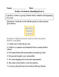 Algebra Puzzle Worksheets Word Transitional Words Underlining Part  Intermediate  Middle School  Types Of Joints Worksheet Word with Mypyramid Worksheet Excel Circling Prefixes Worksheet Number Search Worksheet Excel