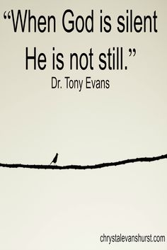 A chat with Dr. Tony Evans on prayer. Podcast #056 http://chrystalevanshurst.com/056-a-chat-with-dr-tony-evans-on-prayer/