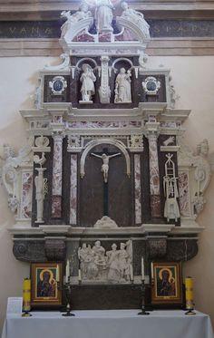 Kasper Fodyga, kaplica Fodygów w Chęcinach, 1614 Catholic Altar, Rococo Style, Iglesias, Sculpture, Sacred Art, Religious Art, Baroque, Christianity, Decorative Boxes