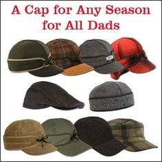 Stormy Kromer caps | Made in USA | Father's Day gift idea