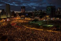 June 17, 2013 - Thousands gather for protests in Brazil's Largest Cities