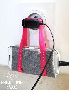 Tuto DIY : réaliser un support pour chargement de téléphone portable