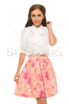 PrettyGirl Dressable White Blouse
