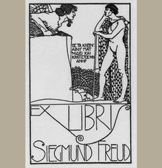 Sigmund Freud | 35 Bookplates Belonging To FamousPeople, Books