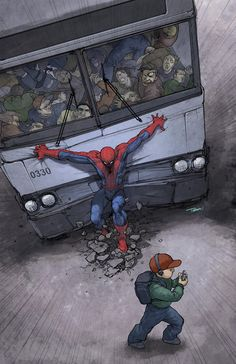 Spider-Man by Francis Tsai