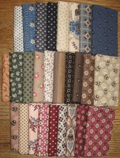 More fabric from Judie Rothermel...end of the Civil War era.