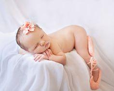Ballet Slippers Baby Ballet Booties Ballet Baby by Dremnstar