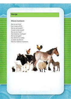 Versje: De boerderij Childrens Party, Preschool, Flashcard, Kids, Europe, Young Children, Boys, Kid Garden, Kindergarten
