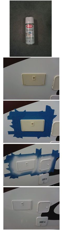 Spray paint is an inexpensive, quick, and easy update for anything on your RV. Help it look 10 years younger with this fix