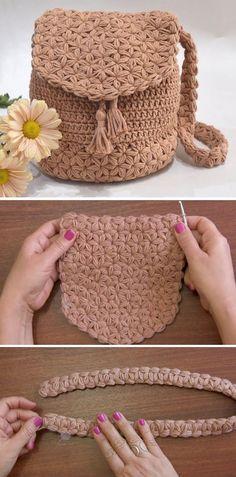 Crochet Jasmine Stitch Bag - Design Peak