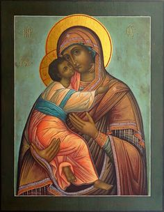 Włodzimierska Ikona NMP Blessed Mother Mary, Blessed Virgin Mary, Religious Icons, Religious Art, Icon 5, Russian Icons, Byzantine Icons, Orthodox Icons, Mother And Child