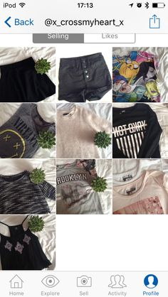 Follow my depop if you want some really cheap and good quality clothing it's: x-crossmyheart-x or my name: Imogen Allen
