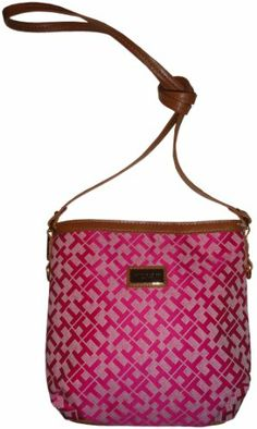Womens Tommy Hilfiger Purse Handbag X Body Pink