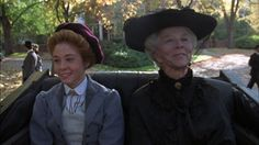 MRS. HARRIS: May I ask is that all your own hair? ANNE: Yes.  Every bit. MRS. HARRIS: Pity it's red.  But I believe red is becoming quite popular again.   (Anne of Green Gables: The Sequel)