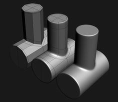 FAQ: How u model dem shapes? Hands-on mini-tuts for mechanical sub-d AKA ADD MORE GEO - Page 97 - Polycount Forum