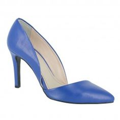 Pantofi TULIPANO albastru Louboutin Pumps, Christian Louboutin, Stiletto Heels, Kitten Heels, Shoes, Fashion, Moda, Shoes Outlet, Fashion Styles
