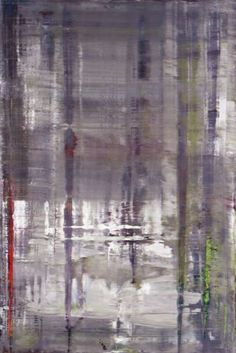 Gerhard Richter, Wald (forest), my fav type of forest, a squeegee forest