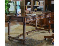 Brookhaven Leg Desk | Hooker Furniture | Toms-Price Home Furnishings| Hooker Furniture – Sam Moore – Bradington Young – Seven Seas