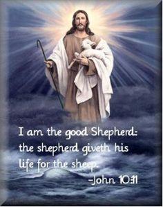 He is our Shepherd.