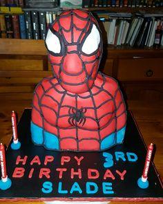 Spiderman 3D cake