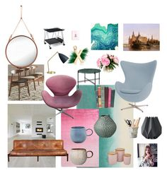 """Interior inspiration"" by malinandersson on Polyvore featuring interior, interiors, interior design, home, home decor, interior decorating, Menu, Bluebellgray, Fendi and Designers Guild"