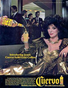 #Vintage Jose Cuervo #Tequila Ad.