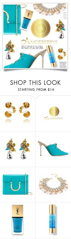 """""""Angieberrys Sponsored Contest - Win $30 via PayPal!"""" by ewa-naukowicz ❤ liked on Polyvore featuring Malone Souliers, Salvatore Ferragamo, Yves Saint Laurent and Angieberrys"""