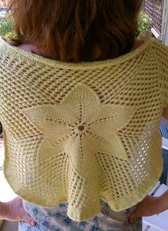 Free Knit pattern shrug