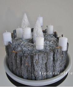 Fioreria Oltre/ Rustic Christmas arrangement  https://it.pinterest.com/fioreriaoltre/fioreria-oltre-christmas/