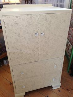 Patterned Paint Roller - Storage Unit at Quaint No 2 Peter St Drogheda Co Louth Ireland - Pattern No 6 - Deer Pattern