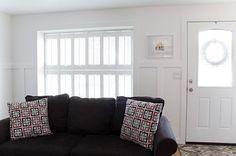 Portentous Useful Tips: Cheap Wooden Blinds bamboo blinds pergolas.Living Room Blinds Modern blinds and curtains cottages.Blinds And Curtains Fun. Woven Blinds, Faux Wood Blinds, Bamboo Blinds, Fabric Blinds, Curtains With Blinds, Sheer Blinds, Blackout Blinds, Window Blinds, Patio Blinds