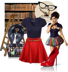 Sexy librarian costume ideas