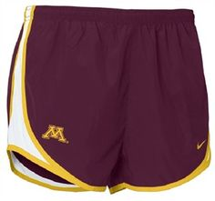 Nike Minnesota Golden Gophers Ladies Maroon NikeFIT Tempo Performance Training Shorts (X-Large) Nike Shorts, Running Shorts, Gym Shorts Womens, Minnesota Golden Gophers, Iowa State Cyclones, University Of Minnesota, State University, Team Apparel, Passion For Fashion