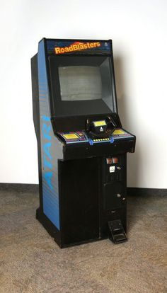 109.17128: Road Blasters | arcade game | Arcade Games | Arcade Games | ICHEG Online Collections | The Strong