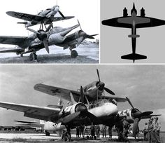 The Mistel, meaning mistletoe in German, was first introduced in the later years of World War II. The crew compartment in the nose of the unmanned bomber was filled with explosives. A fighter aircraft was attached to the roof and the fighter pilot would fly both planes to the target. The bomber was released and the fighter plane hopefully flew safely home: