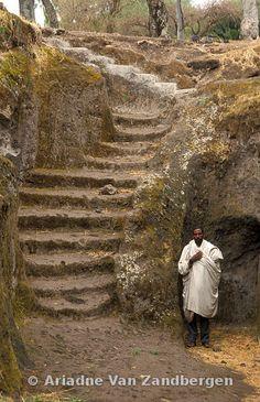 Adadi Maryam rock-hewn church, Adadi village, south of Addis Ababa, Ethiopia