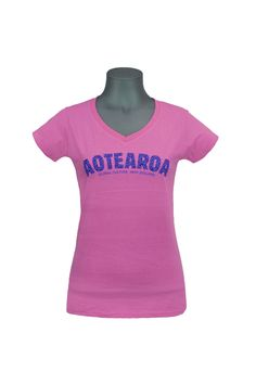 ba485d028198 aotearoa womens t-shirt - Pretty in pink