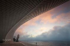 MAAT - Lisboa mornig fog by jfeteira