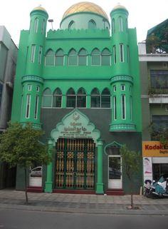 Mezquita en Vietnam.