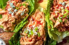 Buffalo Chicken Salad (5 Minutes!) - Little Pine Low Carb