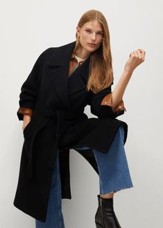 Mango, Wishlist Shopping, Office Looks, Media Design, Wool Coat, Looking For Women, Coats For Women, Latest Trends, Casual Outfits