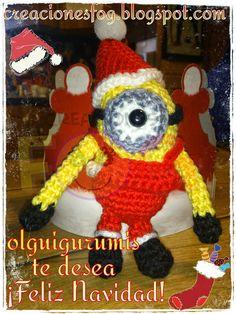 creaciones FOG: Minion Navidad