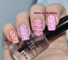 Nails by Malinka: Born Pretty plate BPL-032