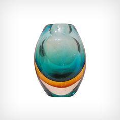 Marcel Breuer Vase en verre de Murano (circa 1960)