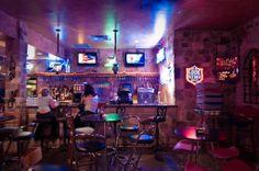 Oasis Bar, over Lake Travis