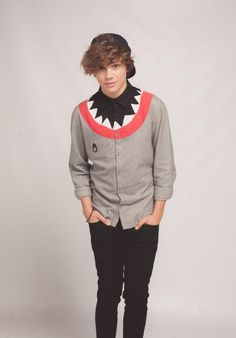 HQ Photo   George on a photoshoot for tour last year