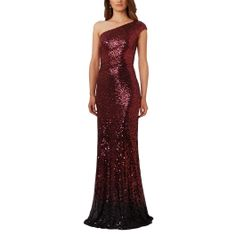 DAVID MEISTER|Ombre Sequined Gown |http://www.elilhaam.com/designers/david-meister/10970016-s002p-ombre-sequined-gown.html via @Elilhaam
