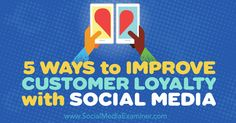 Looking for ways to nurture customer relationships? Discover a five-step plan to help you boost customer loyalty with social media. Inbound Marketing, Internet Marketing, Online Marketing, Social Media Marketing, Digital Marketing, Social Media Updates, Social Media Images, Social Media Tips, Software